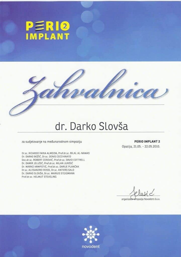 Tema I : Implantologija u mandibuli