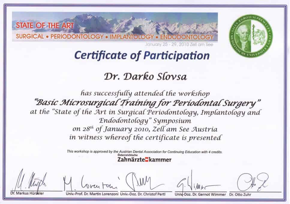 Microsurgery Training