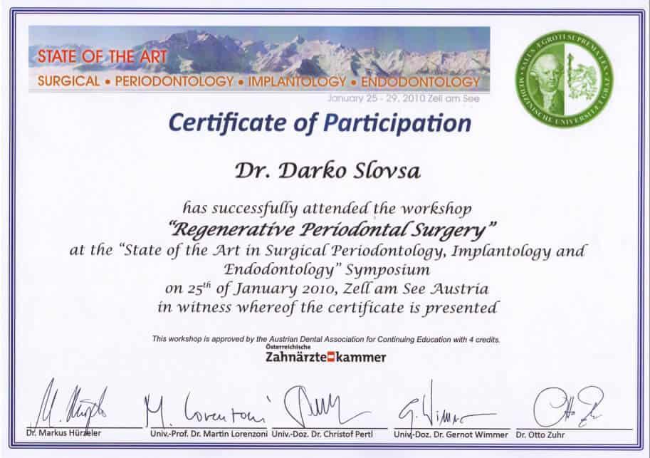 Regenerative Periodontal Surgery