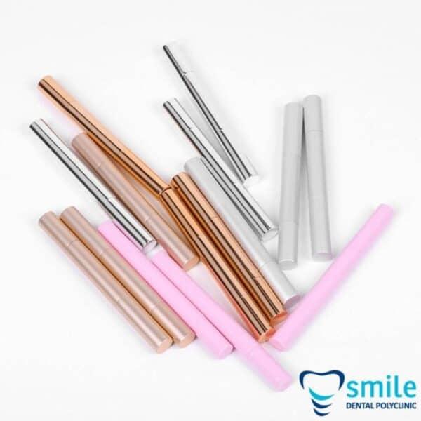 Svinčnik za beljenje zob