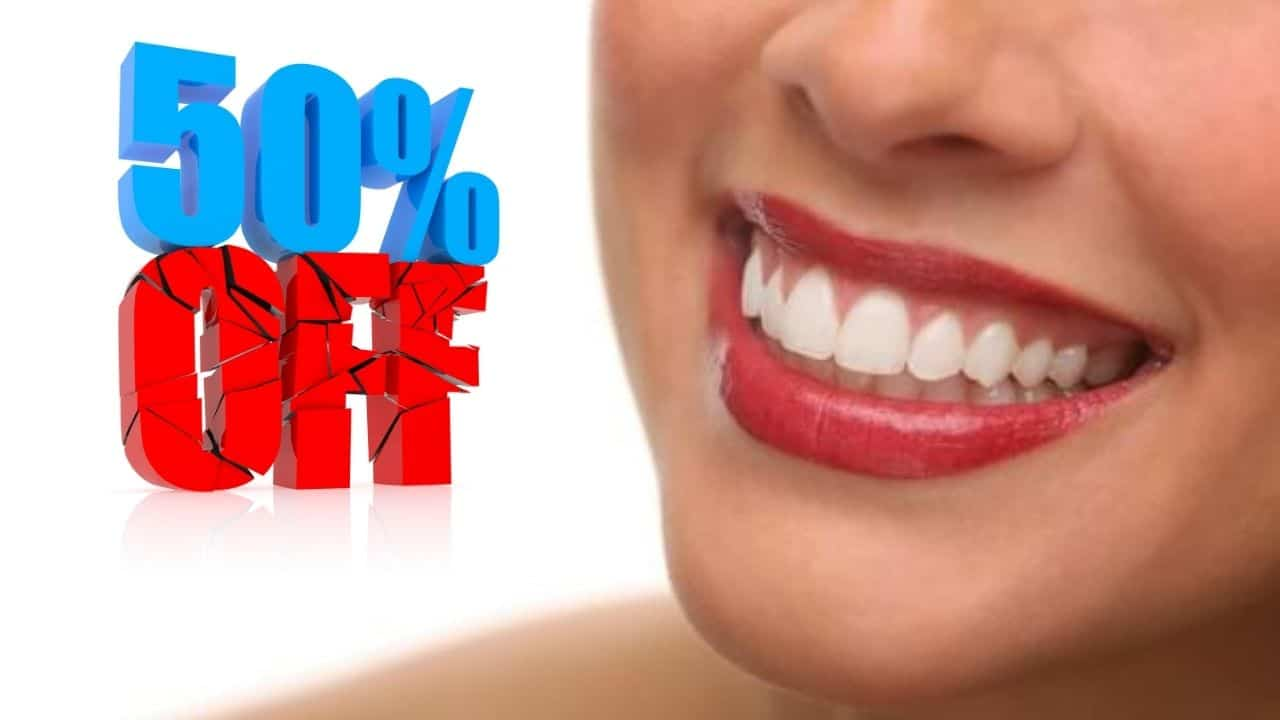 50% discount on tartar cleaning