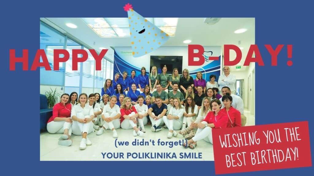 Happy Birthday Smile Poliklinika Opatija