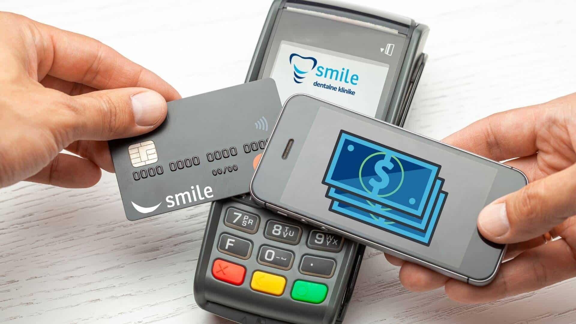 Načini plaćanja u Smile klinikama